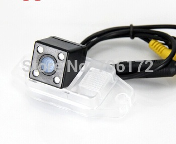 4 led nightvision Special Car Rear View reverse backup Camera for TOYOTA LAND CRUISER PRADO 2700 4000