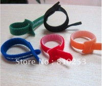 Colorful Velcro Cable Tie/Magic tape,Customized Designs and Logos are Accepted