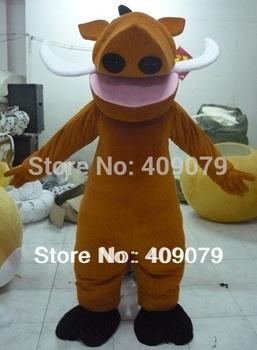 mascota del traje pumbaa