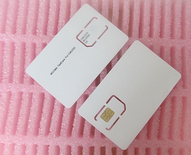 1x 3G Mobile Phone Test Card Sim Card for CMU200, WCDMA Test Card