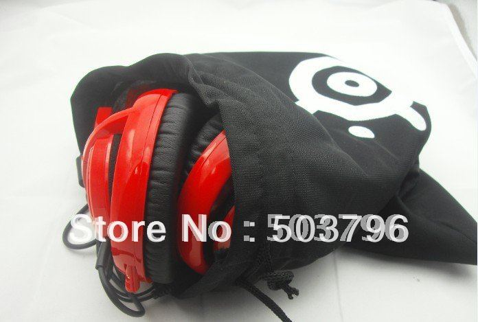HK POST full set SteelSeries V2 / Icemat Audio Siberia Gaming Headset with bag+7.1 sound card+ Extension Cable+Mouse pad Navi(China (Mainland))