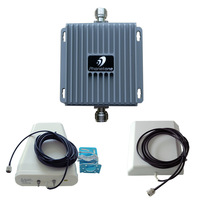 Cell Phone Signal Booster Repeater Amplifier  800/1900 MHz Dual Band 55dB Complete Kit