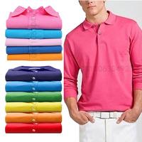 Cheap Men  Embroider Crocodile logo Camisas Shirts womens casual camisetas long sleeves100% cotton balck white shirt S- XXL