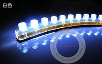white 120 LED lamp Car 120cm LED strip light,strip lamp! Free shipping!