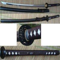 Free Shipping&Drop Shpping(1pcs) Unokubi Zukuri Carbon Steel Handmade Battle Sword