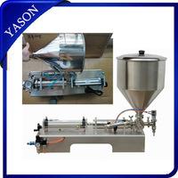 single head Shampoo  Cosmetic  paste filling machine 1000-5000ml