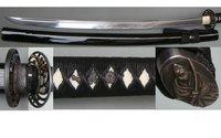 Free Shipping&Drop Shpping Light Stainless Steel Handmade Katana