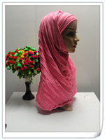 one piece hot drill Omasum muslim hijabs,muslim scarf,islamic hijab,coverchief,women kerchief, muslim turban 12031704