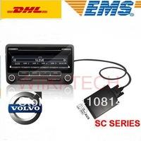 Car MP3 Interface Adapter for Volvo SC700, SC800, SC801, SC802