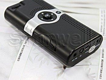 Handheld Portable Micro Mini LED Projector With phone Compatible  mini LED Projector with 320*240 + LCoS Display + USB/AV-IN