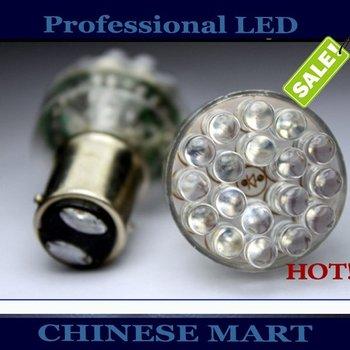 Wholesale 1156 1157 24LED Car LED Brake Turn Light Automobile Lamp Wedge Bulbs 24 LED BA15S BAU15S BA15D BAY15D#D09008