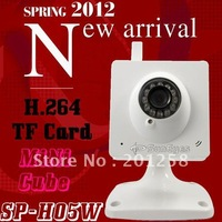 SunEyes H.264 Mini  Wireless IP Camera with  TF/Micro TF Card Slot SP-H05W