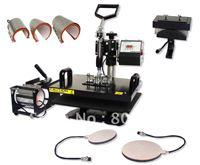 Free shipping combo heat press machine 28x38cm 8in1
