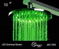 10''  Water Powered LED Rain Overhead Shower JNC-TS04