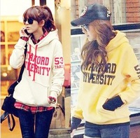 Free Shipping new design lady's casual cotton hoody long sleeve women's coat and jacket fashion 2012