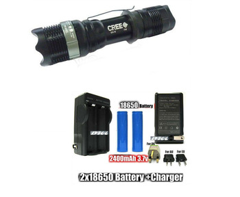 10set SA 9 Flashlight 250 Lumens 7W CREE Q5 LED Flashlight Focusable Torch Aluminum Zoomable Flashlight + HOLSTER +Free Shipping