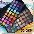 120 #72-2XP 72 Color Eyeshadow Palette Pro Shining Makeup Eye shadow Palette Kit Set  Wholesale