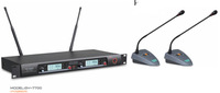Freeshipping Top quality professional UHF Gooseneck Wireless 2 meeting microphone System/Conference Speakerphone System 1set/lot