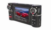freeshipping Dual Lens Camcorder Car DVR Dual Camera HD 720P Dash Black Box With Rear 2 Camera Vehicle View Dashboard Cameras
