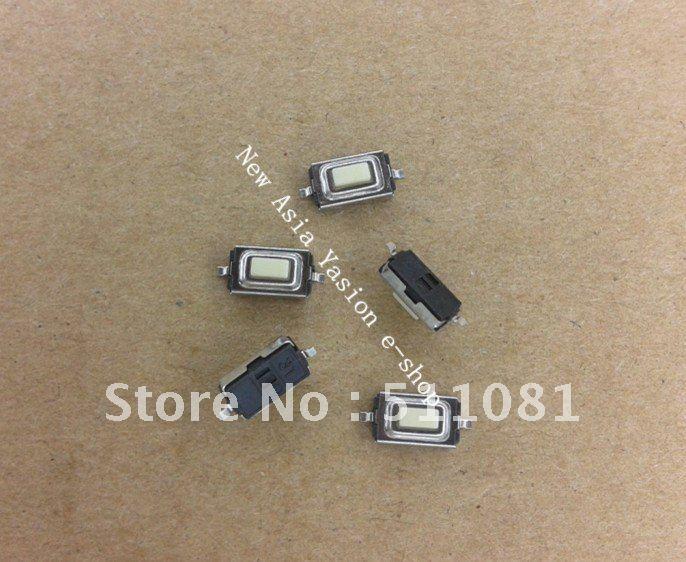 Free shopping 200pcs good quality 3*6*2.5H 2pin SMD mp3/mp4 Button switch key switch Tact Switch(China (Mainland))