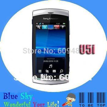 Original Sony Ericsson U5i mobile phone U5 unlocked phone 3G WIFI GPS 8MP camera