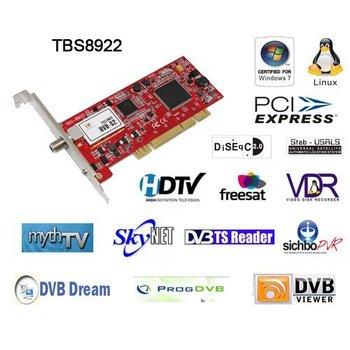 TBS8922 DVB-S2 TV Tuner PCI Card