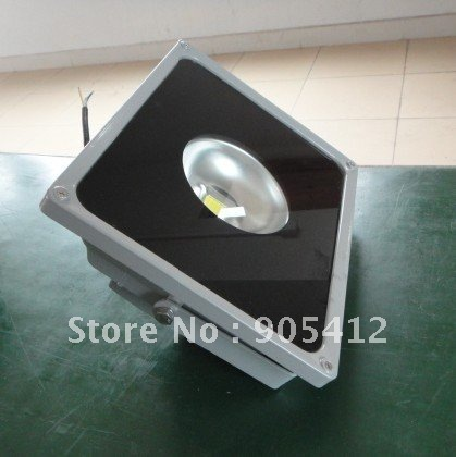 high power led flood light 50W focus spotlight aluminium body Max.4500lm free shipping(China (Mainland))