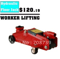 Free Shipping!!!Model 2T Auto Tyre Repair Tools Hydraulic Floor Jack QK2T Type with Carton Boxes