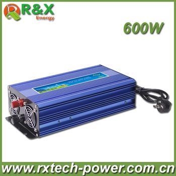 HOT SALE!! 600W Off Grid Inverter Pure Sine Wave Inverter DC12V or 24V or 48V input, Wind Power Inverter