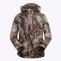 Free Knight Outdoor Camouflage Coat (Casaco)  Men Military  G8 Windbreaker Fleece Hunting Jungle Clothes Size:M L XL XXL XXXL