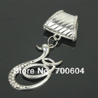 12pcs/lot, 2014 Hot selling product! wholesale Woman/Women jewelry scarf charm pendant, factory supply, sarves accessories