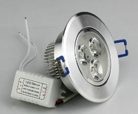 3W high power LED Ceiling light  +Constant current transformer 200-240lm 5pcs/lot