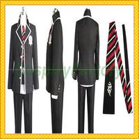 Free Shipping Custom Made Ao Exorcist Cosplay Okumura Rin Fullset Suit Costume,1.5kg/pc