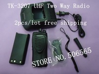 Hot Sale!TK-3207 UHF two way radio made in china Free Shipping