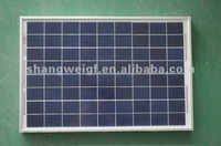 solar pv module 20W 525X350 high efficiency