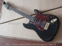 Wholesales New Arrival James Style Black Electric Guitar No Case