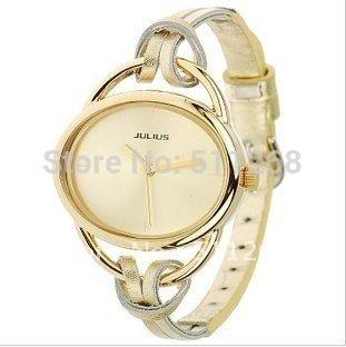 10 цветов кожаный ремешок золотые часы люксовый бренд женщин наручные часы ручной вязки новинка и свободного покроя часы Relogio Feminino