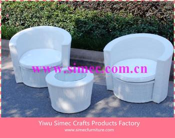 wicker rattan garden furniture set SCAC-018