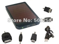 Solar panel 2600mAh back up Battery/power bank / Charger for Iphone 3G 4G Mp4