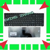 Laptop keyboard for Original New ACER Aspire 5810 5810T 5536 Russian Keyboard RU  +Free Shipping (K1124)