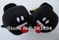 Footwear Shoes Black boo ghost Slipper Adult size 11 inch Free Shipping Retail