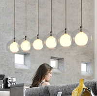 Free Shipping Dia77cm Modern Creative pendant light/drop light/pendant lamp for bar/dining room /parlor 6 lamps