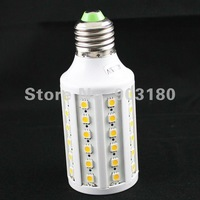 10pcs New hot Pure/ warm white Spotlight SMD 5050 60LEDs 1080LM  E27 AC220V or 110V 11W LED 5050 SMD light 10 pcs free shipping