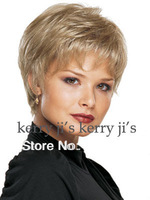 Stylish Casual Hair Blonde short Straight Wig new Arrivals