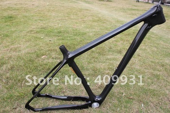 Specialized  MTB  frame 29ER carbon bicycle Frame with 3k weave clear coating finish,2years of warranty
