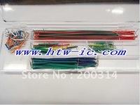 140pcs,New   Breadboard Protoboard Jumper wire 140pcs ,ICs& Free shipping