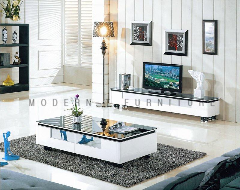 Modern Panel Tea Table Fashion Tv Stand One Set Fashionable Living Room Table