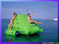 inflatable park equipment for playing water,inflatable water toys with free shipment