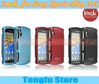 xperia play case,Imak hard matte cover case for sony ericsson Xperia Play Z1i R800i,withy screen protector+free shipping