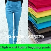 Fashion Sexy Women's leggings,High Waist Tight Leggings pants ladies trousers 13 color in stock